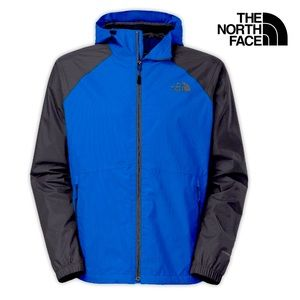 NWOT The North Face Allabout Jacket in Blue /Black